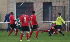 Steeton AFC equalise at Campion AFC