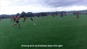 Tom Bentham vs Thornes FC